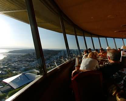 Superb Space Needle Interior View Photo