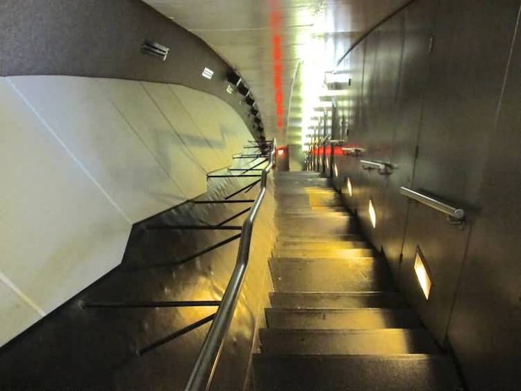 The Gateway Arch Inside Stairs Photo