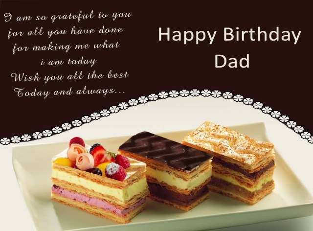 Wish You All the Best Today And Always Happy Birthday Dad