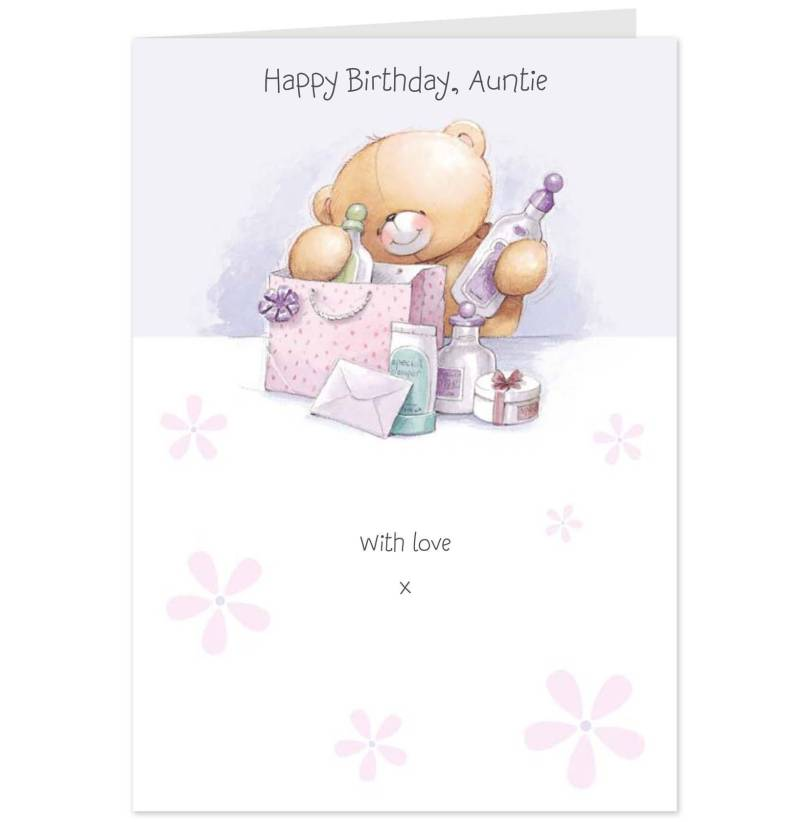 Wonderful Card For Aunt Birthday