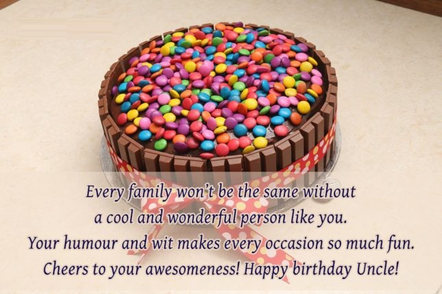 Wonderful Person Like You Happy Birthday Uncle