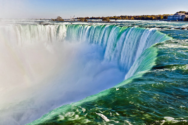 Awesome Photo Of Niagara Falls With Beautiful Nature