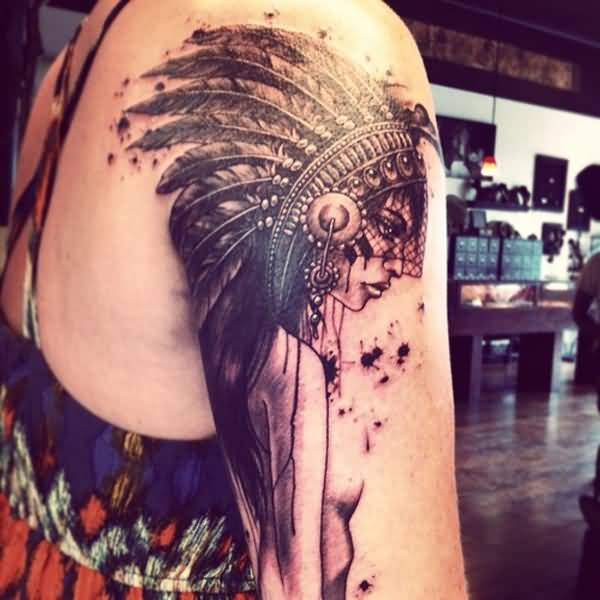 27 Eye Catching Native American Tattoo Designs For Man Woman