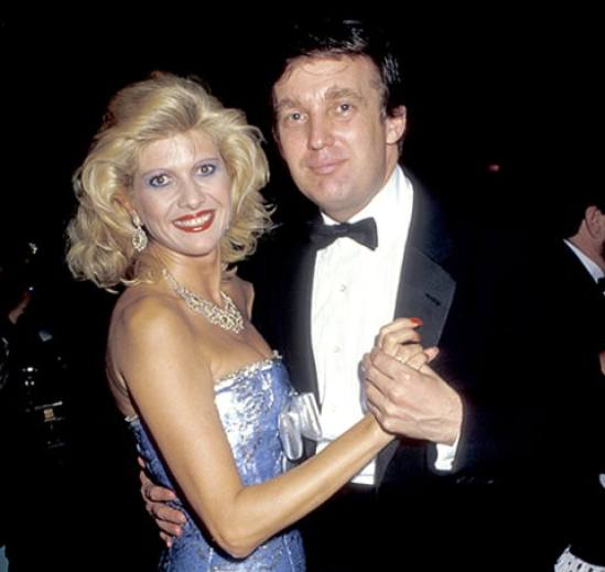 Donald Trump Dancing With Wife