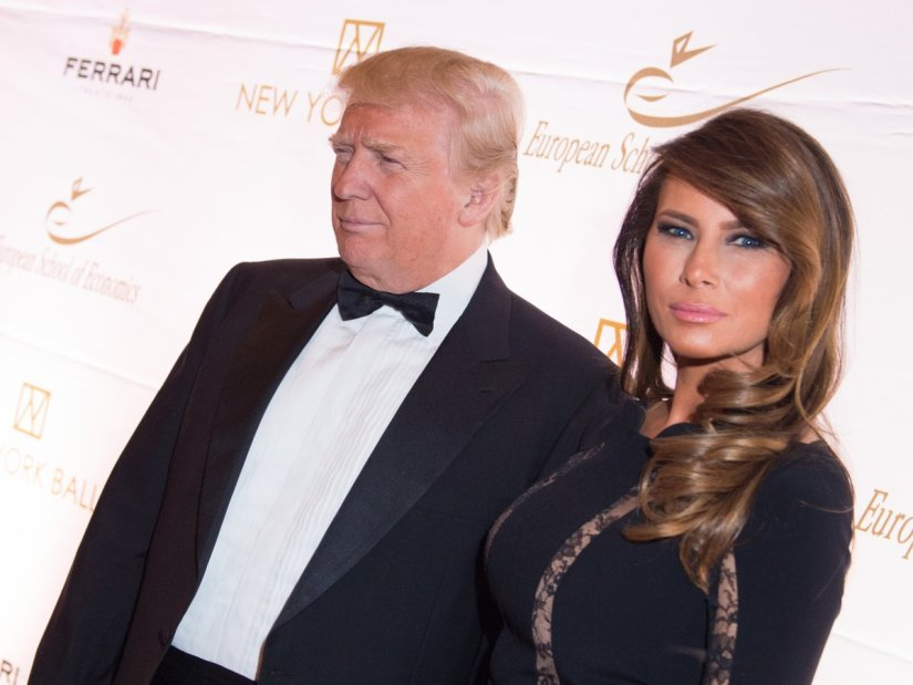 Donald Trump Melania Trump In Hd