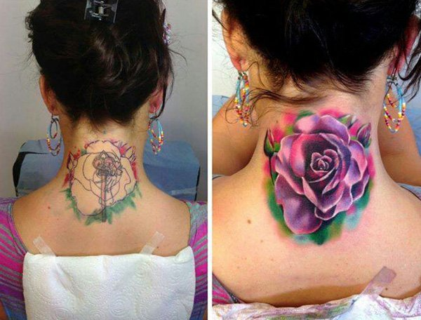 57 rare cover up tattoo before and after. Black Bedroom Furniture Sets. Home Design Ideas