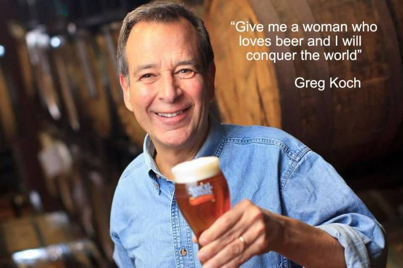 Give Me A Woman Who Loves Beer And I Will Conquer The World Greg Koch