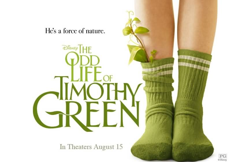 Hes A Force Of Nature The Odd Life Of Timeothy Green