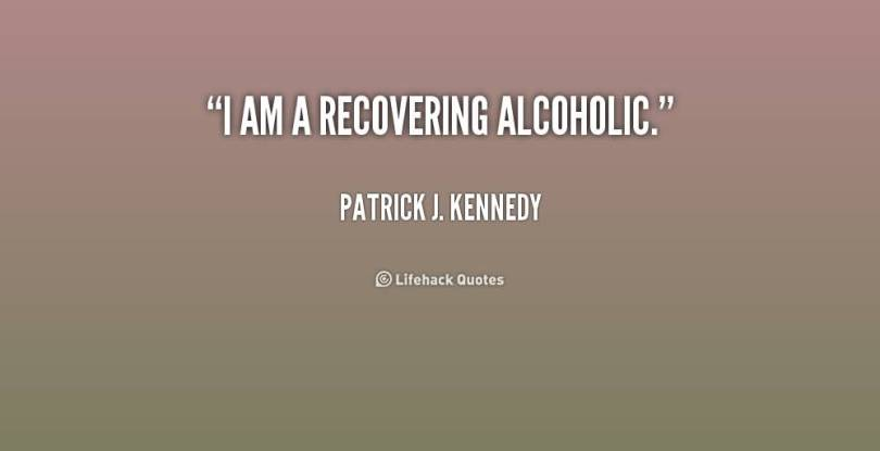I Am A Recovering Alcoholic Patrick J Kennedy