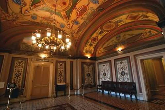 Very Beautiful Room In United States Capitol With Light