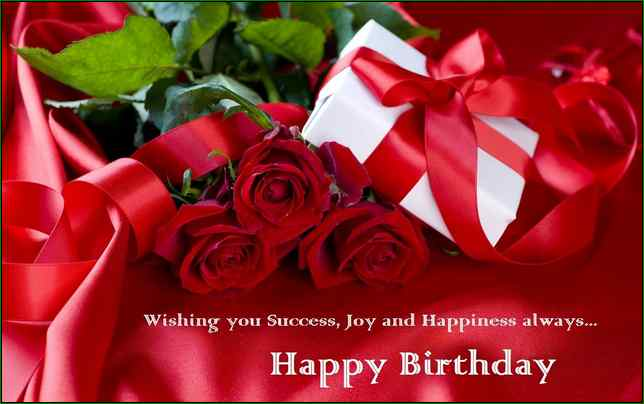 Wishing You Success Jou And Happiness Always Happy Birthday