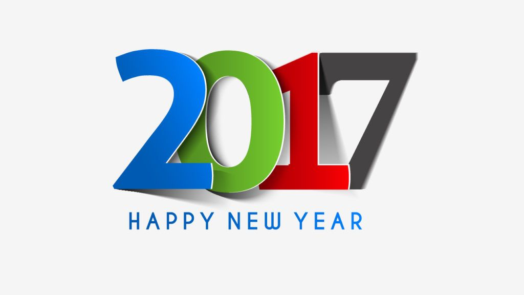 2017 Happy New Year Best HD Wallpaper