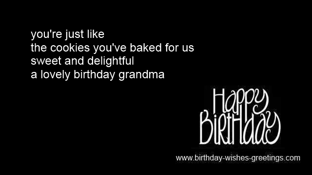 A Lovely Birthday Grandma Happy Birthday Wishes Image