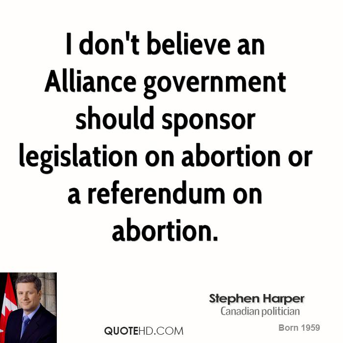 Abortion Quotes I don't believe