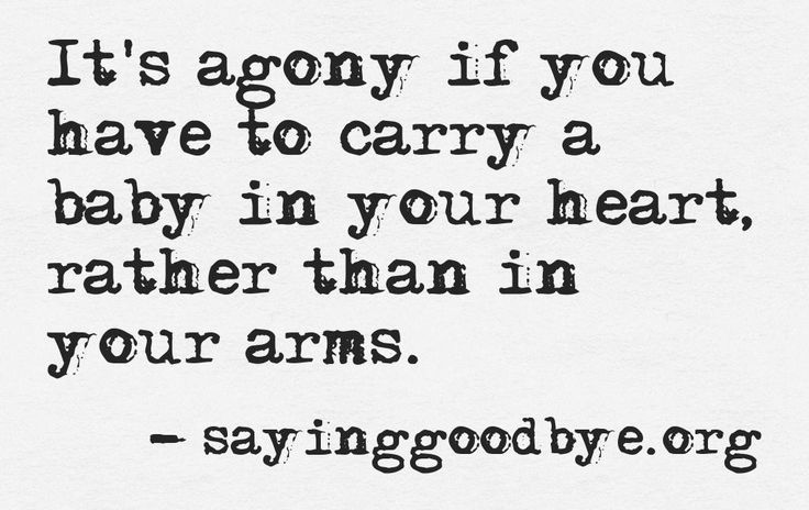 Abortion Sayings It's agony if