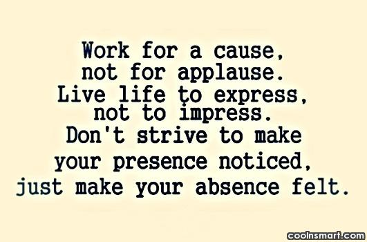 Absence Quotes Sayings 01
