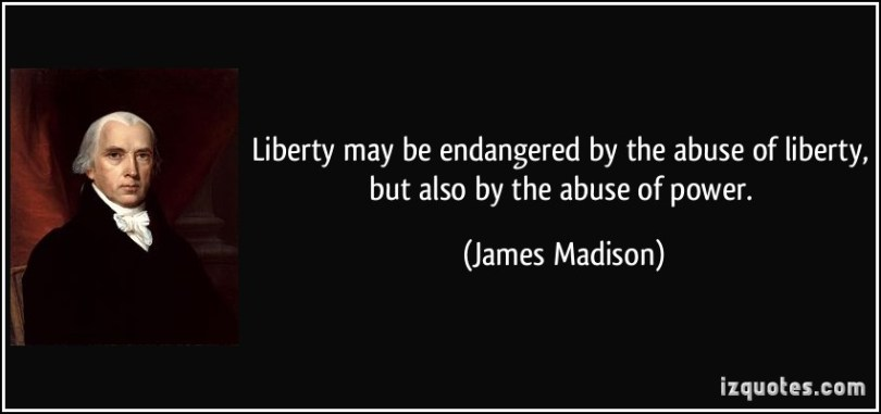 Abuse Quotes Liberty may be endangered by the abuse of liberty, but also by the abuse of power. James Madison