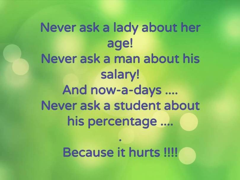 Age Sayings Never Ask A Lady About Her Age Never Ask A Man About His Salary