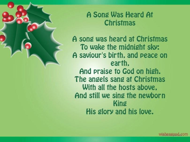 Amazing Merry Christmas Poem For This Season