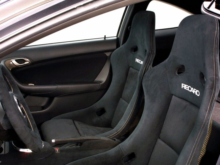 Awesome Acura RSX Car inside black seat view