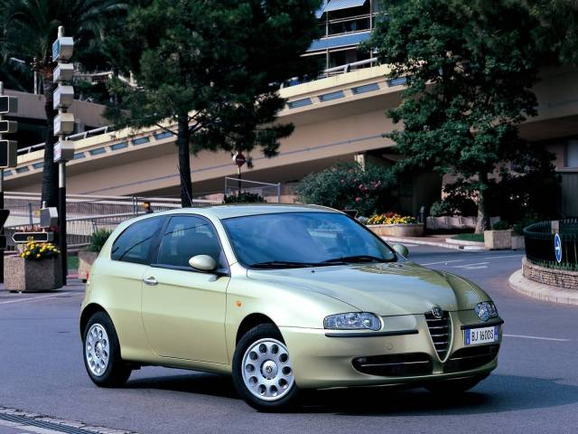Awesome Alfa Romeo 147 Car on the road