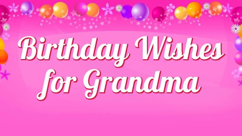 40 special grandmother birthday wishes greetings picsmine for What to buy grandmother for birthday