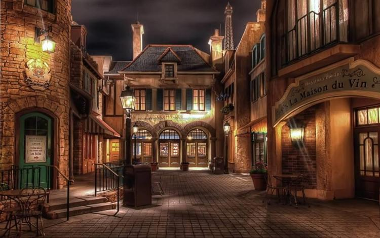 Awesome France Epcot Full HD Wallpaper