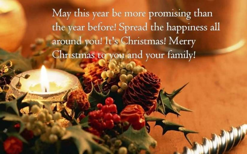 Awesome Merry Christmas Greeting