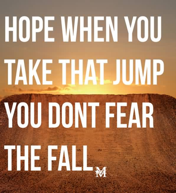 BMX Quotes Hope when