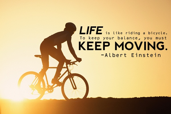 BMX Quotes Life is like riding
