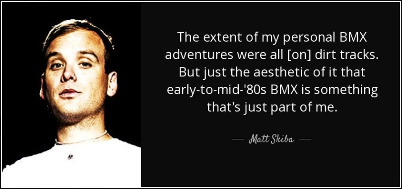 BMX Quotes The extent of my