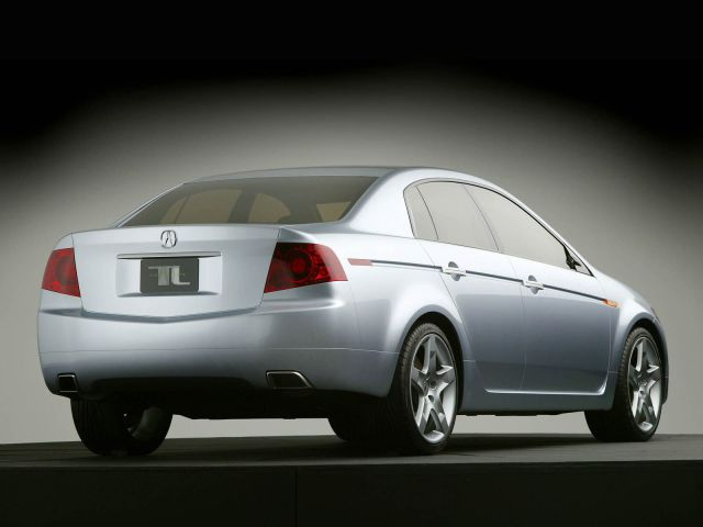 Back side view awesome Acura TL Concept Car