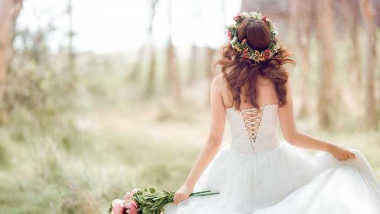 Beautiful Bride Wedding Greetings Wallpaper