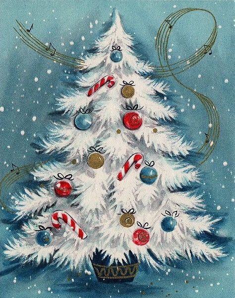 Beautiful Christmas Tree Merry Christmas