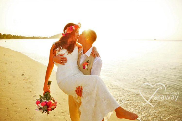 Beautiful Couple Wedding Wishes Wallpaper