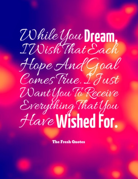 Beautiful Good Night Wishes Quotes Image