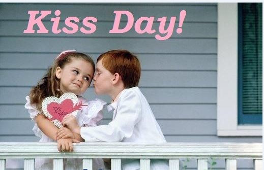 Beautiful Kiss Day Wishes Lovely Image