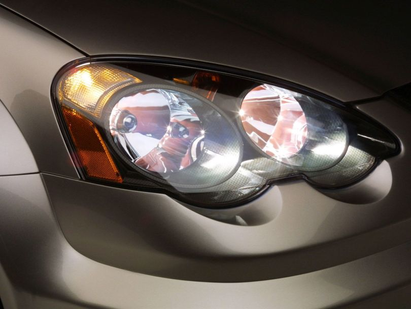 Beautiful Acura RSX Car front light view