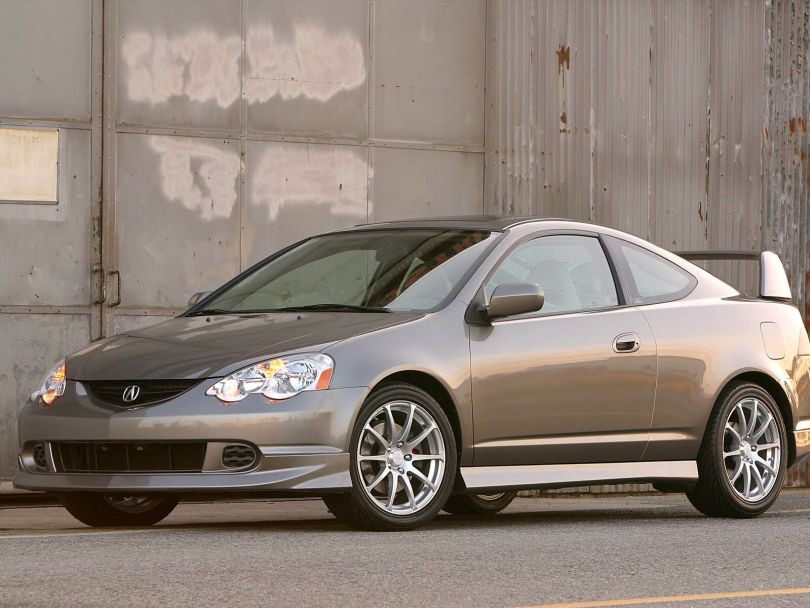 Beautiful Acura RSX Car on the road