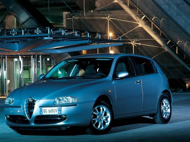 Beautiful Alfa Romeo 147 Car in showroom