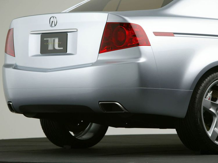 Beautiful back side Acura TL Concept Car