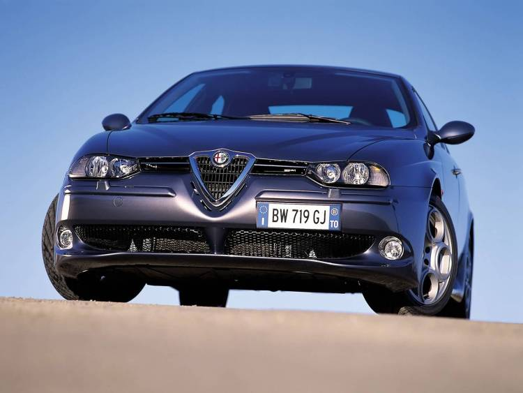 Beautiful front side of Alfa Romeo 156 GTA Car