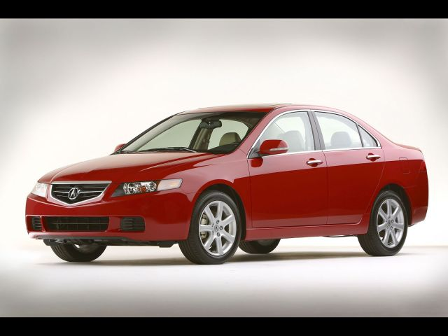 Beautiful red Acura TSX car