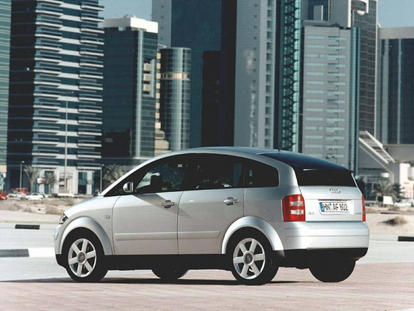 Beautiful view of Audi A2 Car