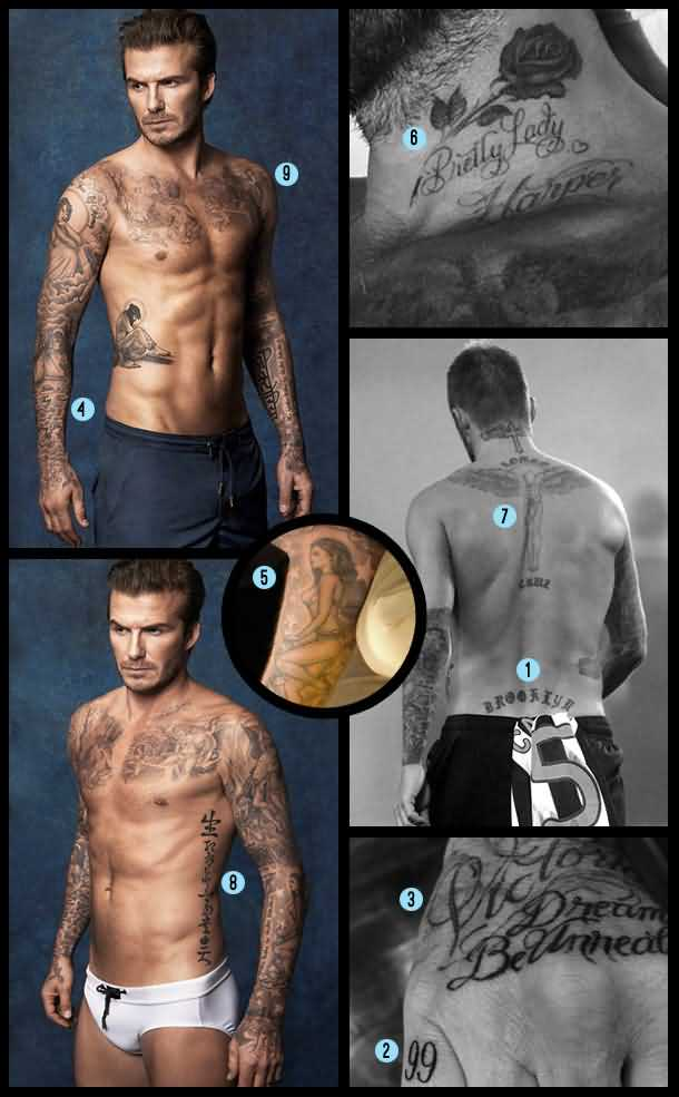 David Beckham Tattoo005