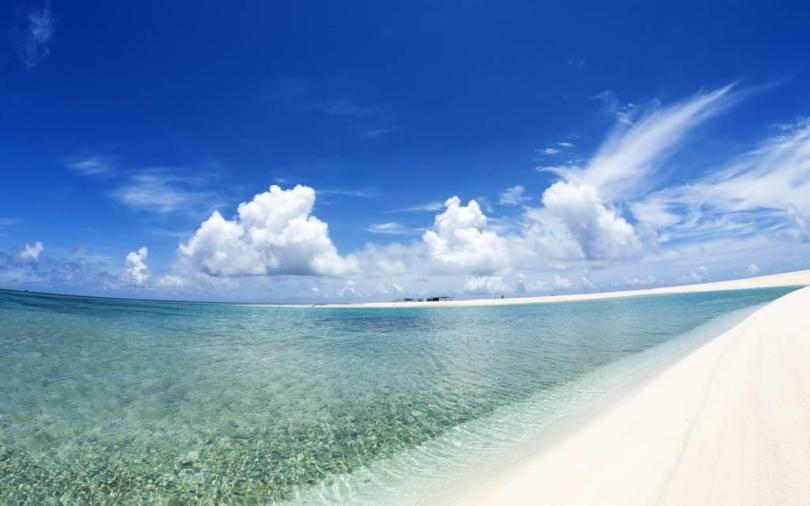 Best Ever Beach Background 4K Wallpaper