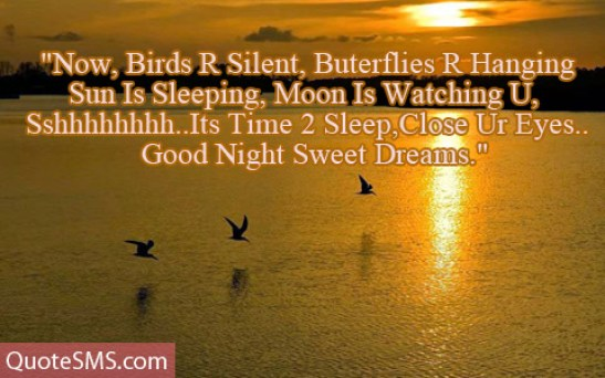 Best Good Night Sweet Dreams Message Image