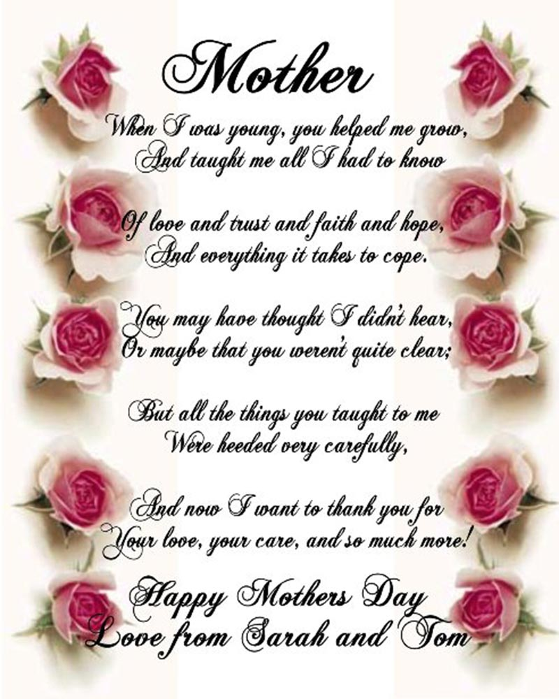 55 Lovely Mother's Day Wishes for All The Children | Picsmine