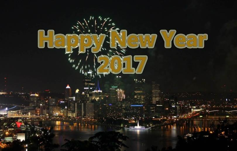 Best New Year 2017 Wishes & Greetings Wallpaper