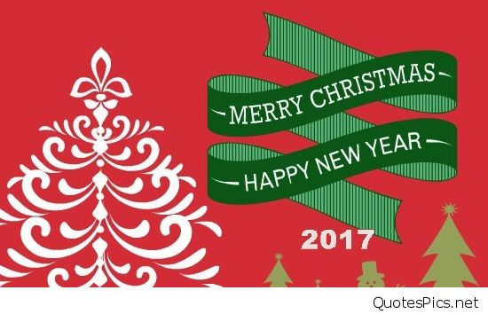 Best Wishes Merry Christmas Happy New Year 2017